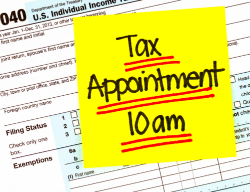 Be Prepared For Your Tax Appointment